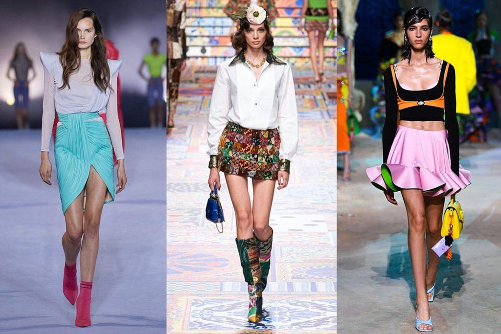 La imagen tiene un atributo ALT vacío; su nombre de archivo es camaleonicas-blog-moda-trends-Tendencias-minifaldas-estridentes-primavera-verano-2021-1024x683.jpg